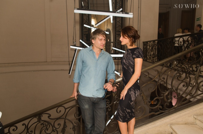 Stanislas Merhar et Lola Créton