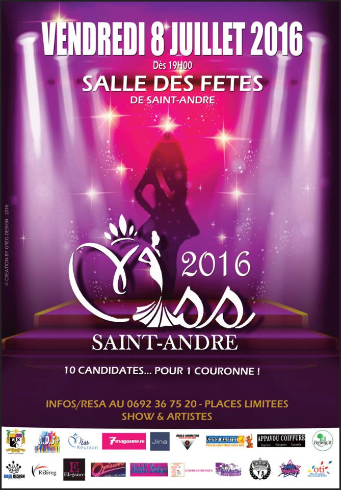 Miss St-André 2016<br>Les 10 candidates