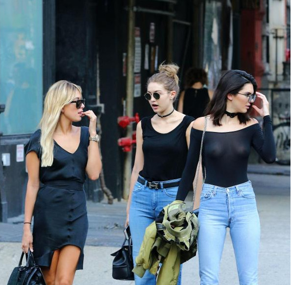 Hailey Baldwin, Gigi Hadid, Kendall Jenner