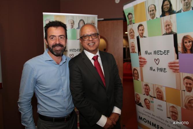 Yann de Prince passe la main à Didier Fauchard à la tête du Medef Réunion