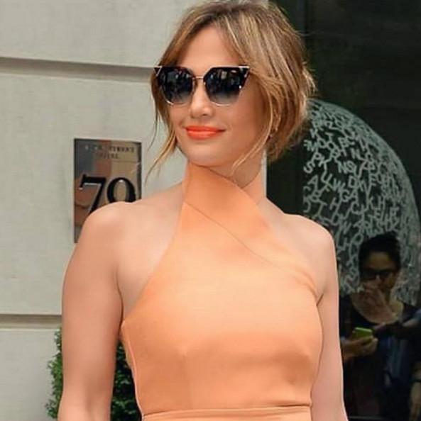 Jennifer Lopez sans maquillage: sublime!