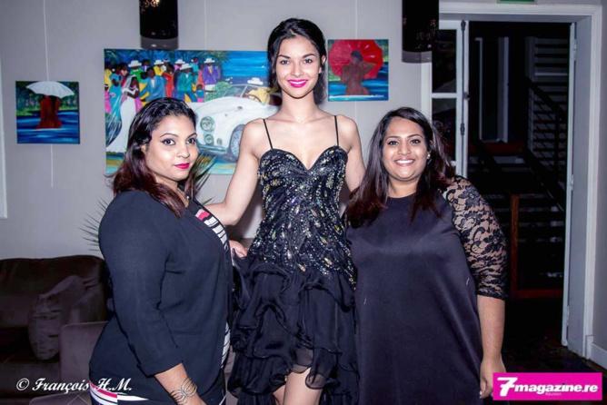 Mélissa Ritou, assistante comptable CBO Territoria, Miss Réunion, et Anne Ritou, attachée de direction d'un cabinet d'expert comptable