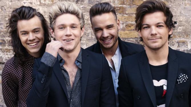 One Direction 2ème du classement