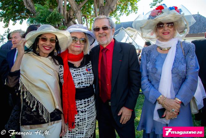 Patricia Vaxelaire, Madame Aude, Daniel Vaxelaire et Carmen Allié