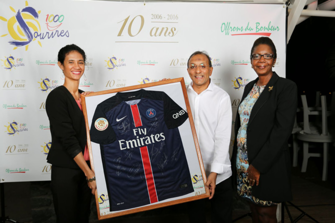 Christelle Lebreton, Ibrahim Ingar et Marie-Lucie Ajax