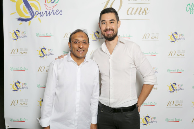 Ibrahim Ingar et Charles Lauret