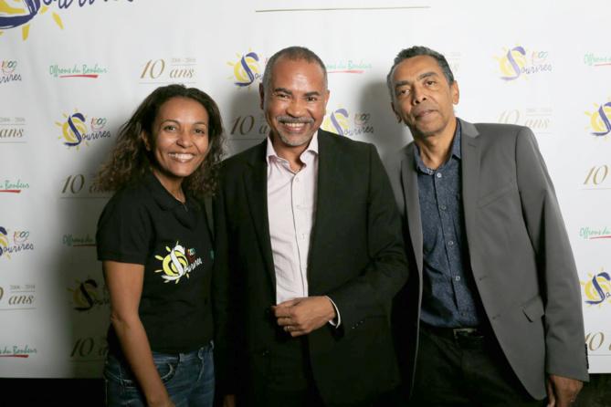 Marie-Alice, Dominique Dufour, et Thierry Jardinot