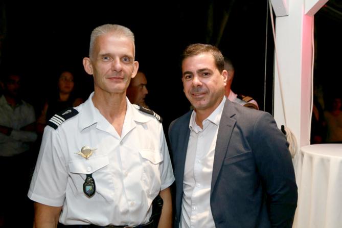 Lionel Héchard et Thierry Martineau