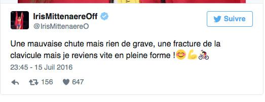 Miss France: une fracture sur le Tour de France