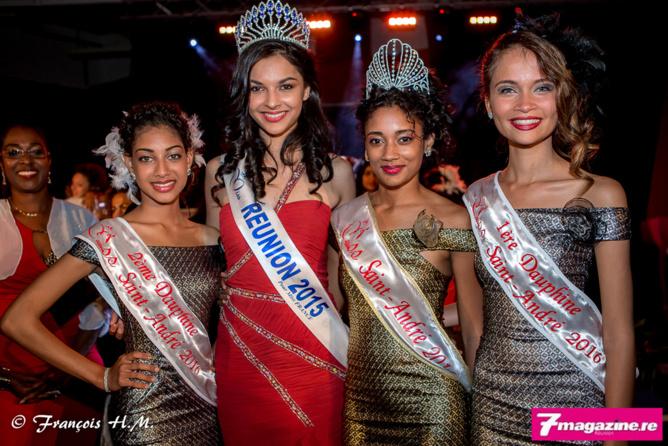 Les lauréates avec Azuima Issa, habillée par Goulam Mula
