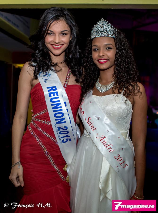Azuima Issa et Océan Guébé, Miss Saint-André 2015