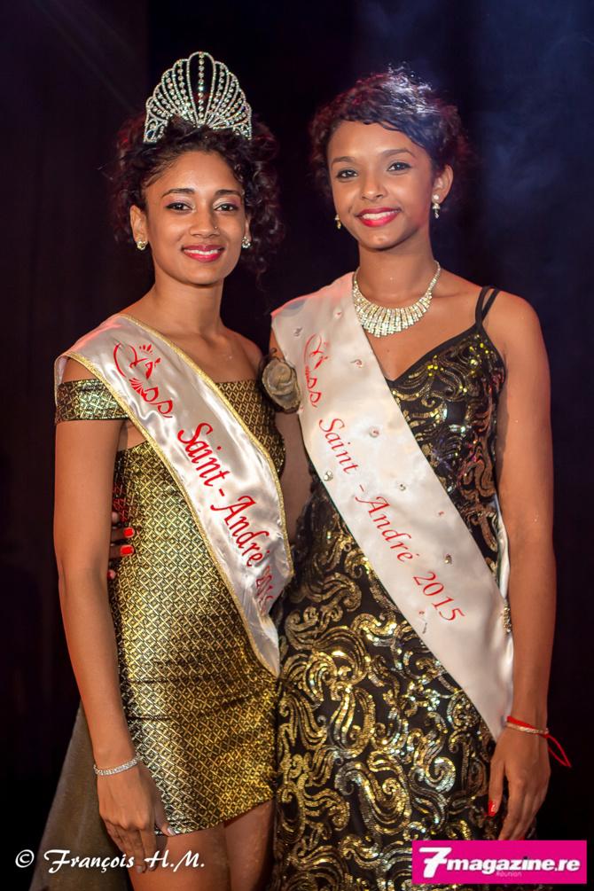 Miss Saint-André 2016 et 2015