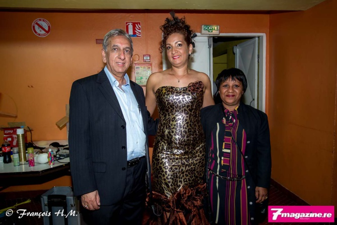 Aziz Patel, Elsa Amouny et Odile Romignac