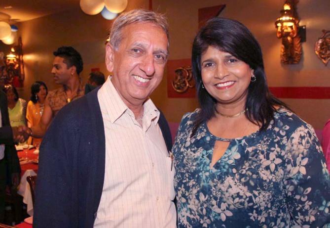 Aziz Patel et Rita Abraham