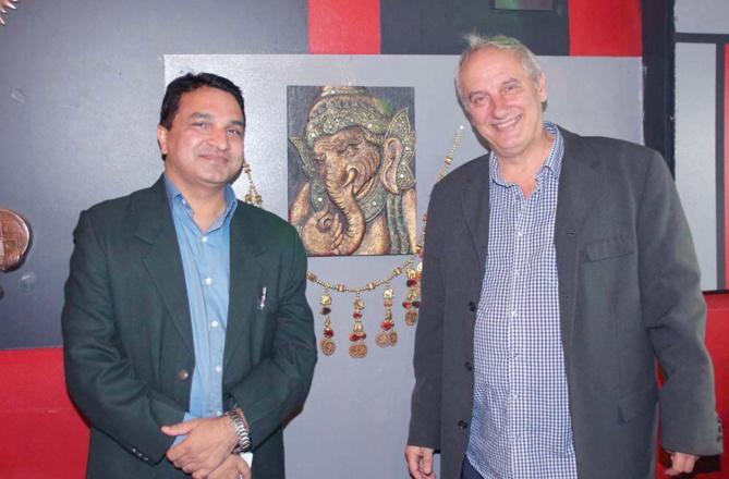 Sanjeev Kumar Bhati et Christian Vittori, ex-éditeur