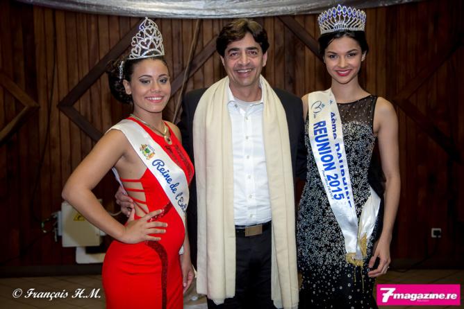 Bachil Vally entouré de Maëva Mandy et Azuima Issa