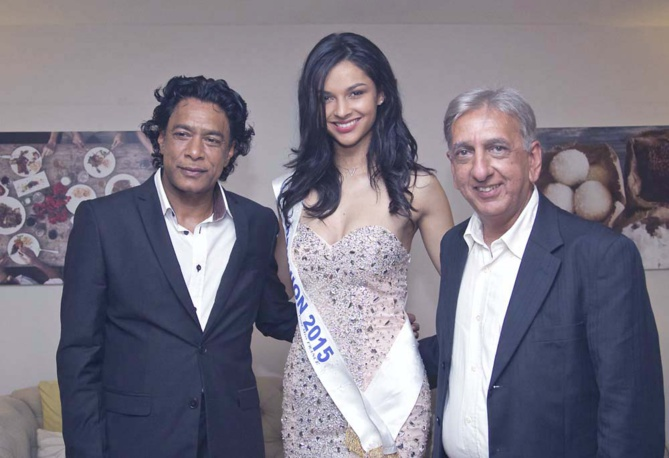 Nando Bodha, Azuima Issa et Aziz Patel