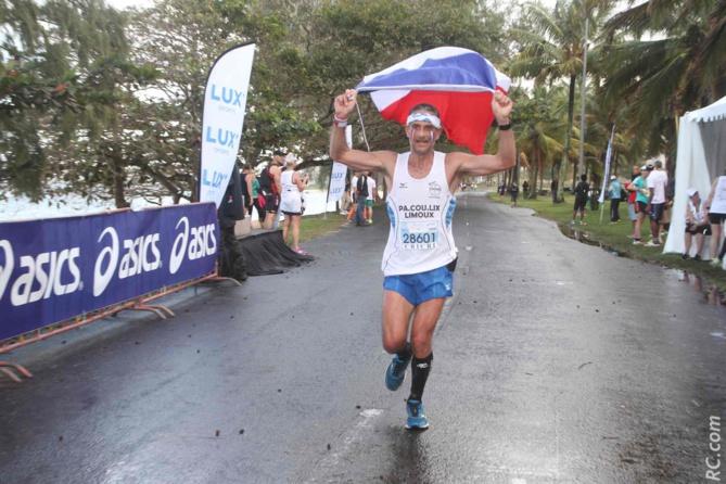Bleu-blanc-rouge, la France était bel et bien présente au Marathon de Maurice...