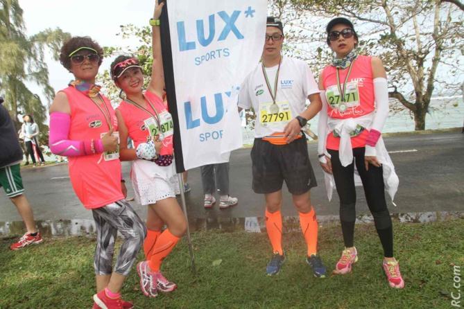 Un «Lux» que de courir ce Marathon International? Eux, s'en souviendront.