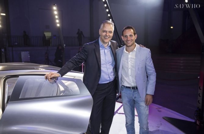 Marc Langenbrinck et Renaud Lavillenie