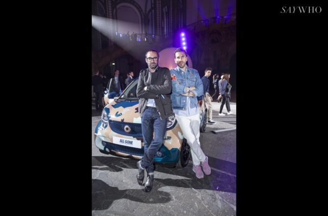 Michael Dupouy et Hervé Poquet