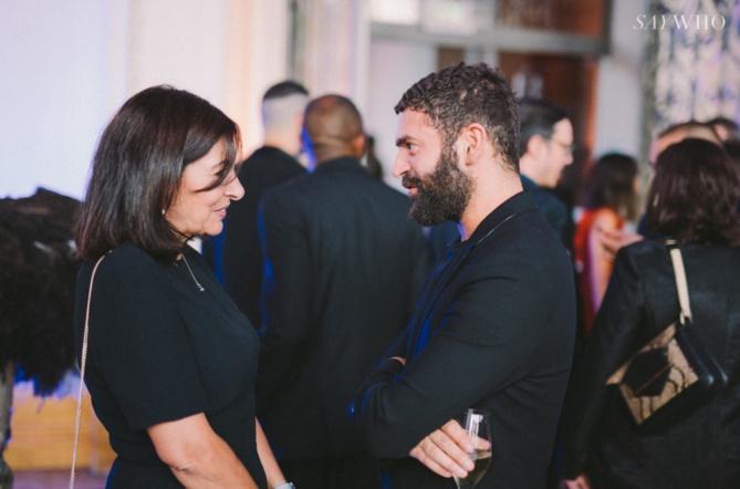 Anne Hidalgo et Alexandre Mattiussi