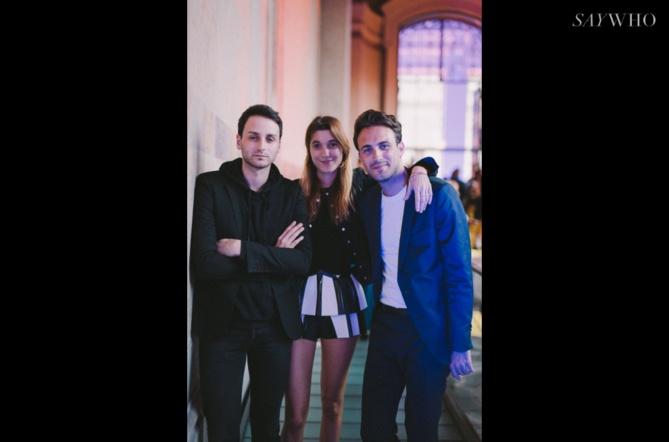 Sebastien Meyer, Lolita Jacobs et Arnaud Vaillant