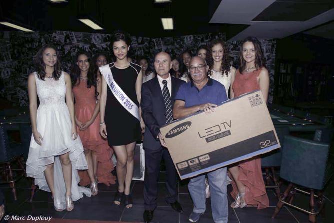 Un jeu-concours a permis à 3 personnes de remporter un téléviseur et des places pour la finale Miss Réunion