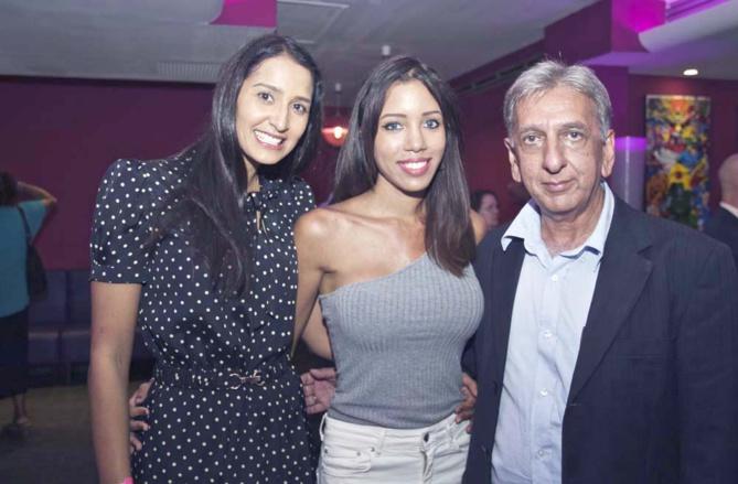 Raïssa Boyer, Kathy Rivière et Aziz Patel