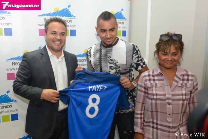Didier Robert, Dimitri Payet et sa maman Michèle