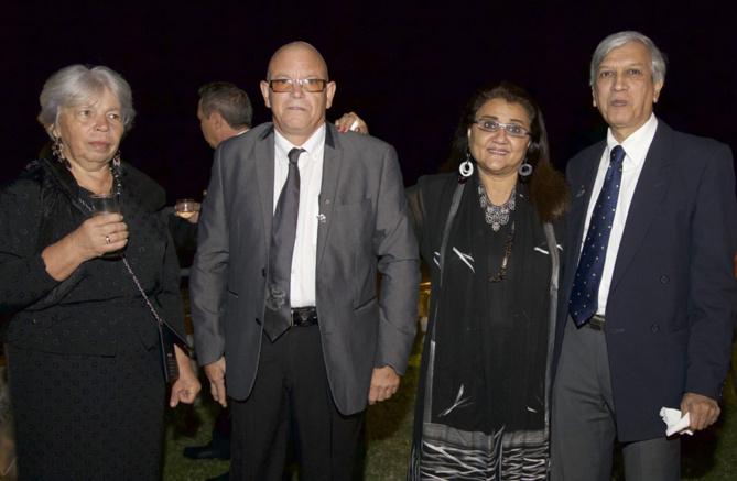 Marie Rivière, André Rivière, Sakah et Zoëb Boudhabhay