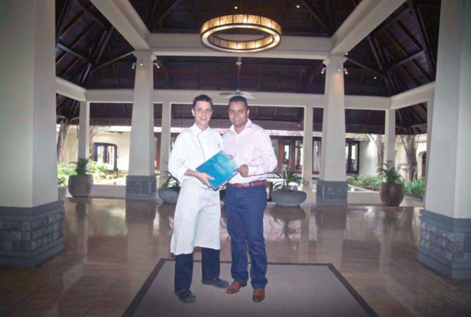 Willi Reinbacher, le chef, et Deepak Balgobin, responsable des relations extérieures