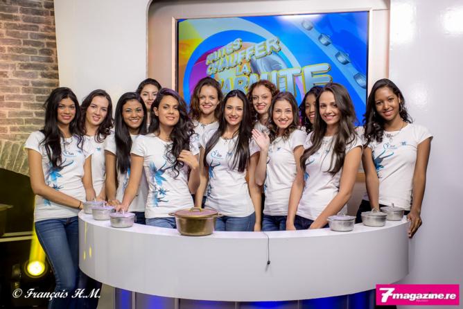 Les 12 prétendantes au titre de Miss Réunion 2016