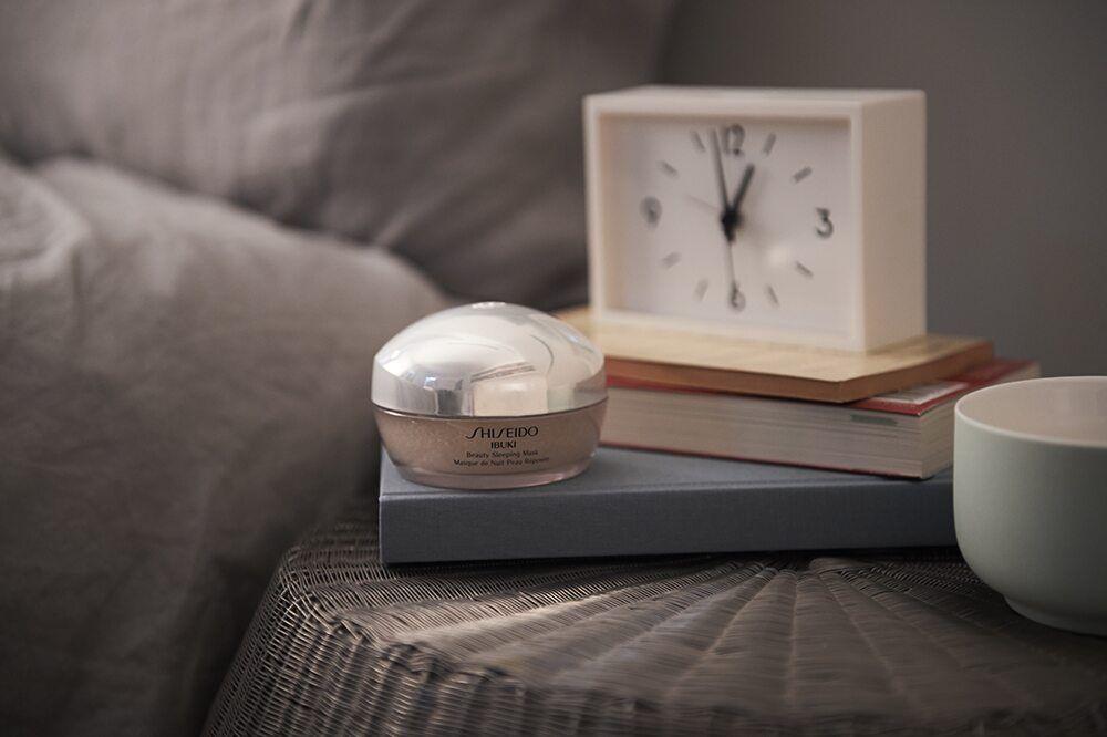 Ibuki masque de nuit peau reposée: une cure express de récupération