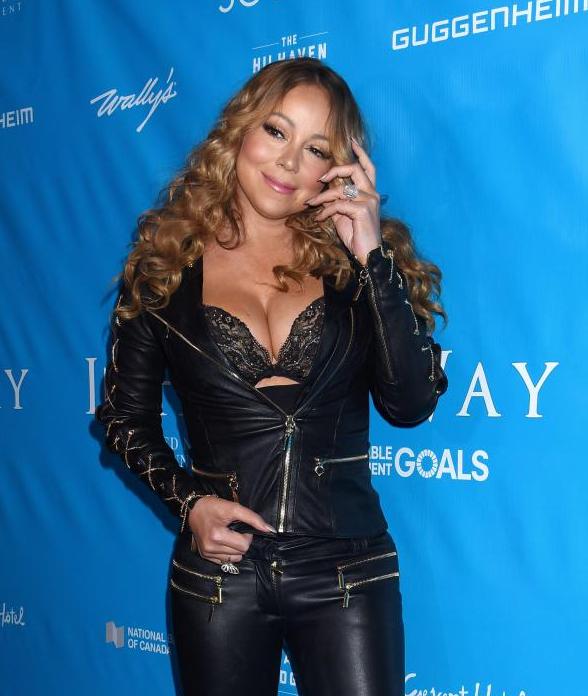 Mariah Carey en sous-vêtements à l'ONU!