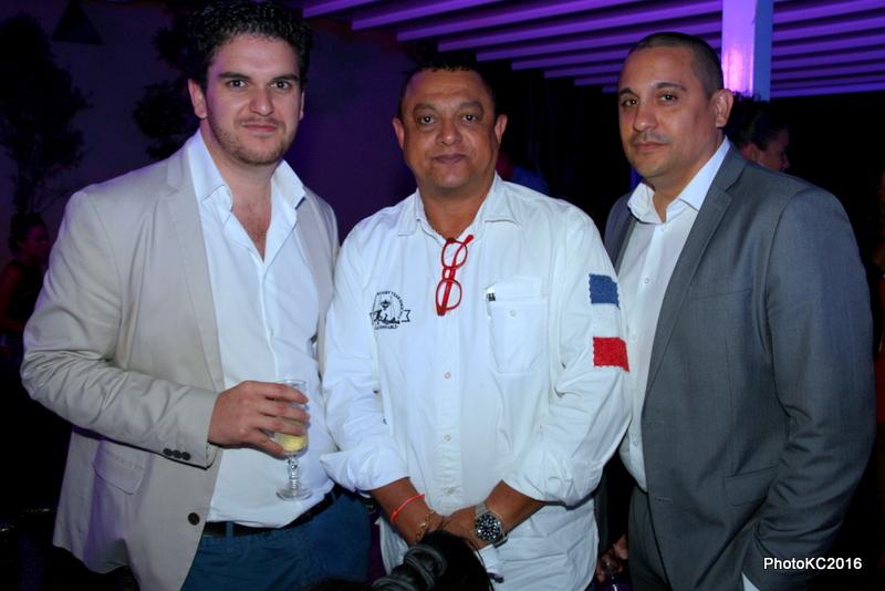 Tony Boyer, Michel Hubert et Olivier Robert