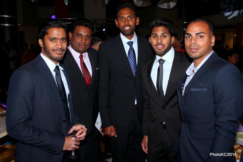 M. Ramassamy, Eddy Ponin, Kevin Irsapoullé, Douraï Ramassamy, Sandjay Moutien
