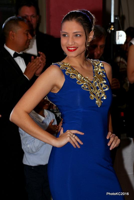 Les 12 candidates Miss Réunion 2016 à la Fashion Night d'ADM