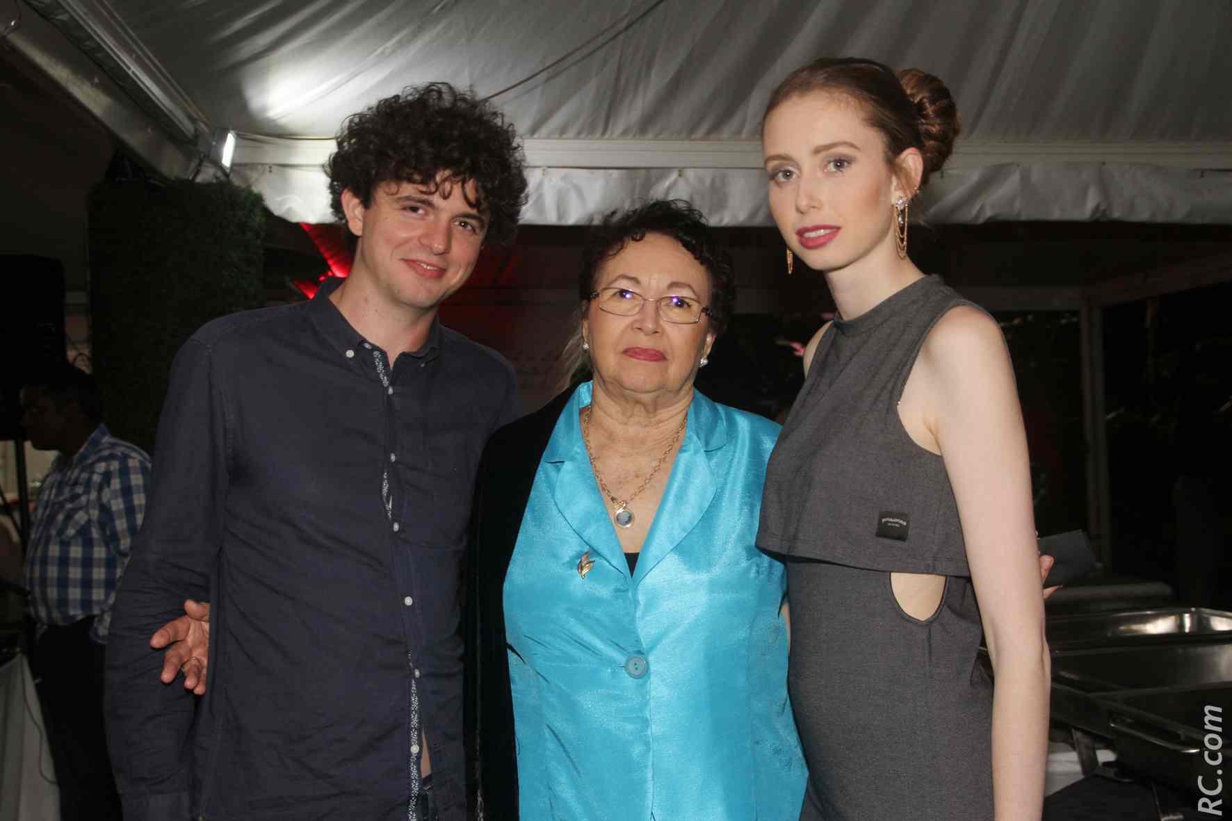 Angelina Cléret et sa famille