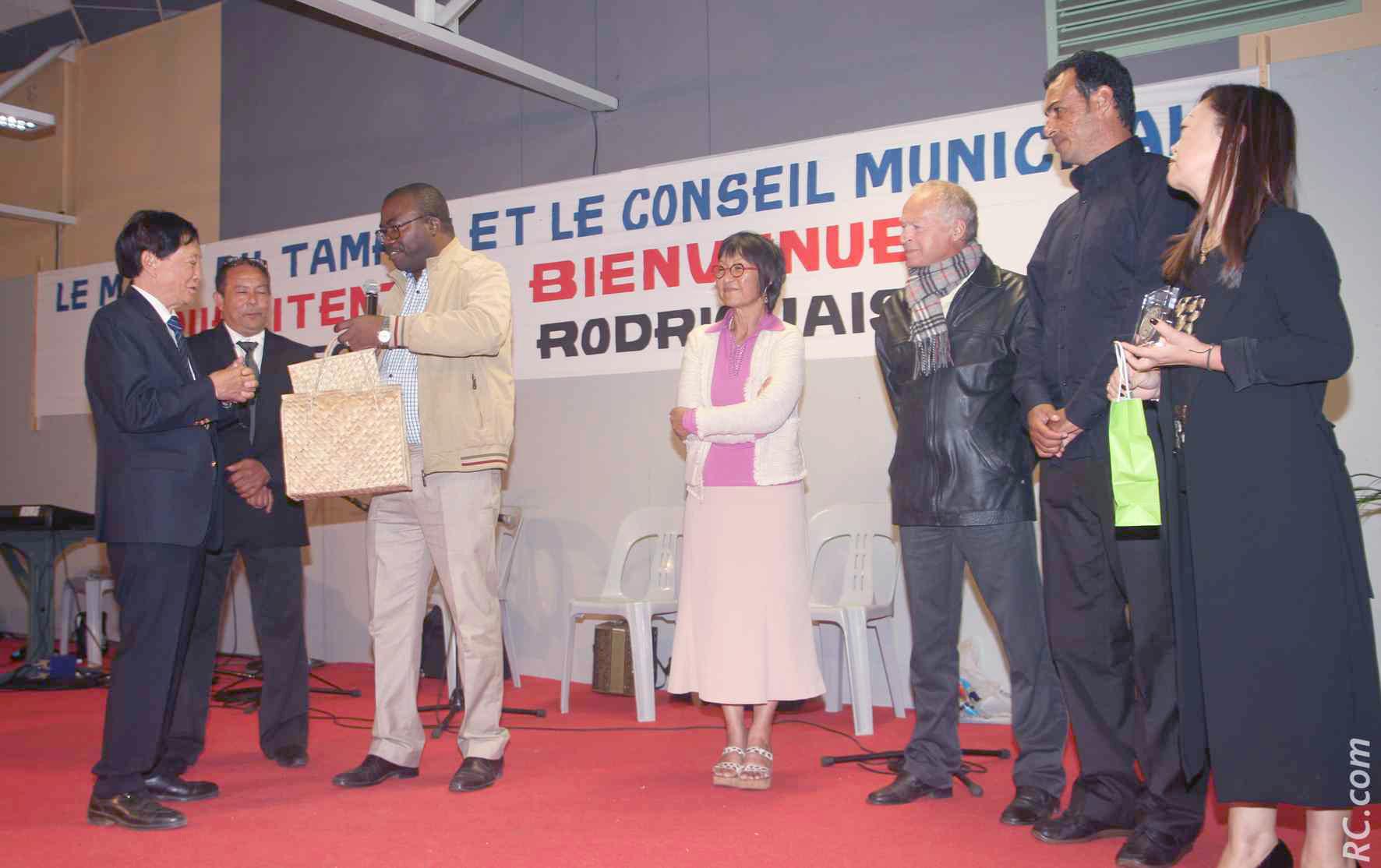 La Médaille de la Ville du Tampon a été remise à Benoît Jolicoeur.