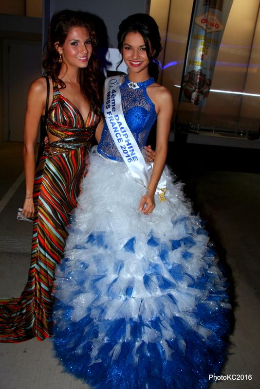 Marie Payet Miss Réunion 2011 et Azuima Issa Miss Réunion 2015