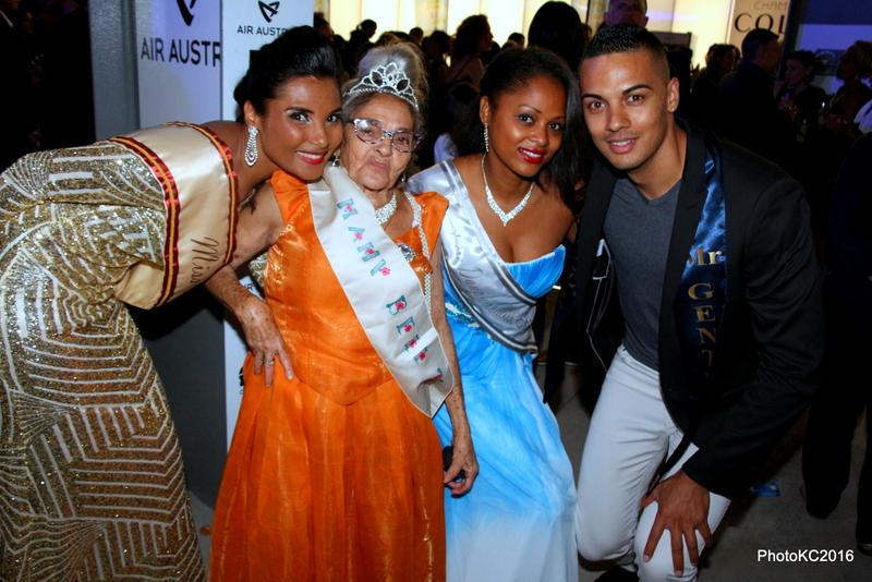 Florence Cataye Miss Elégance Inter 2016, Miss Mamie 2016, Natacha Basson 1ère dauphine de Miss Elégance Inter 2016 et Frédéric Gercara Mister Gentleman Inter 2016