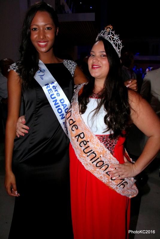 Raïssa Cardarsi et Agnès Dijoux Miss Ronde Réunion 2016