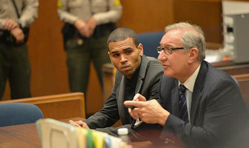 Chris Brown, une caution à 250.000 dollars