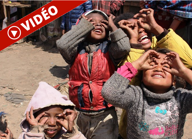 Madagascar: L'éclipse avec les enfants d'Antananarivo