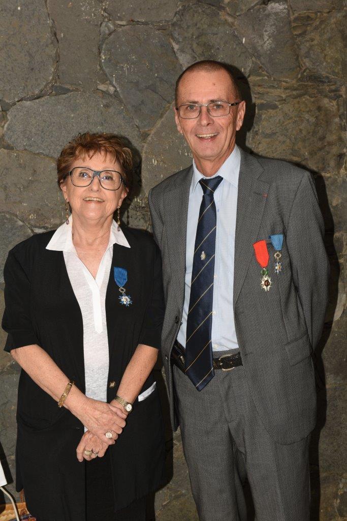 Françoise Churlet et Bernard Salva