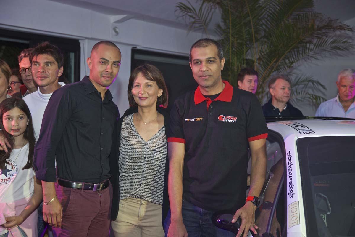 Soirée Rallye: Olivier Payet fait le buzz