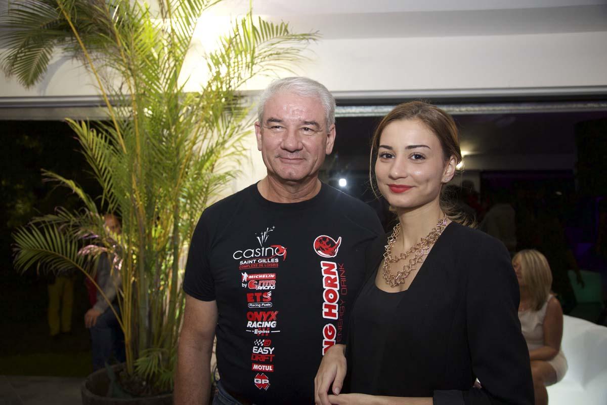 Philippe Lherminez et sa fille Mélodie