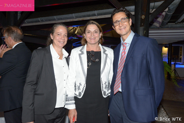 Catherine Frécaut, Yolaine Coste et Philippe Jean Pierre