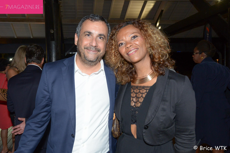 Olivier Bajard, directeur SHLMR, et Séverine Nirlo, DGA à la Région